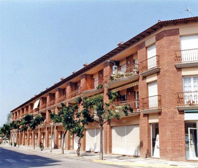Palafolls Inmobiliaria Salmerón 11 Casas adosadas en Avenida Pau Casals 1988-1989