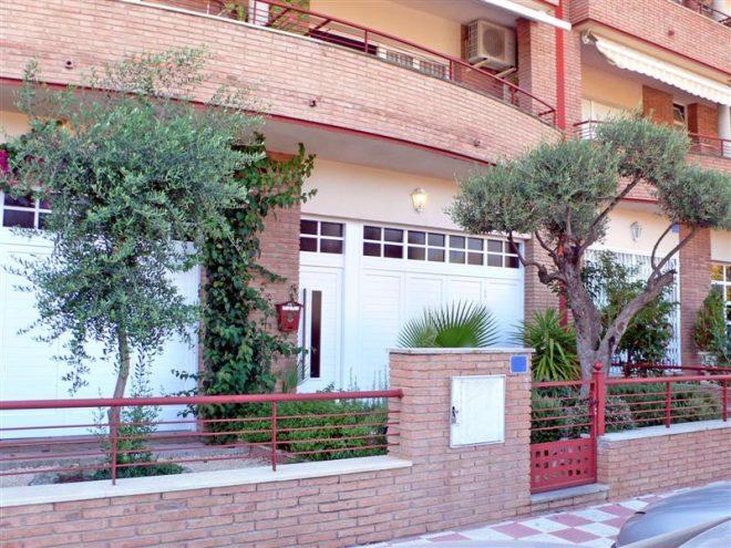 Palafolls Inmobiliaria Salmerón 4 Casas adosadas + 8 pisos y 4 locales C. Ramón Turró esq. Riera de la Burgada y Pompeu Fabra 1995-1997 (3)
