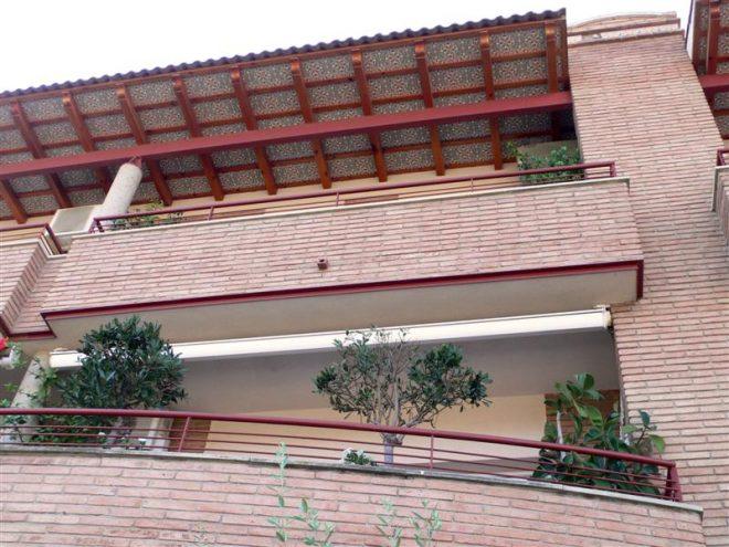 Palafolls Inmobiliaria Salmerón 4 Casas adosadas + 8 pisos y 4 locales C. Ramón Turró esq. Riera de la Burgada y Pompeu Fabra 1995-1997 (4)