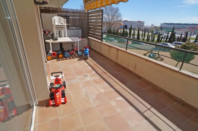 P-1228 Palafolls center floor 3 18m² bedroom with terrace and parking