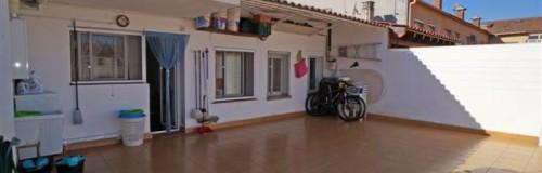 P-1356 Palafolls centro zona Palauet amplio ático 3 dormitorios con terraza de 38m²