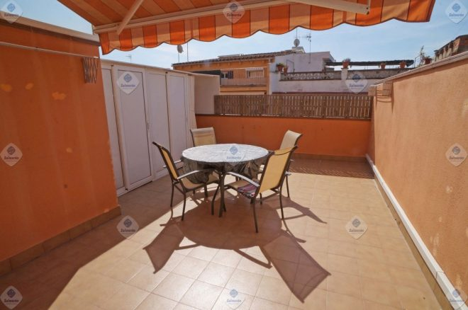 P-1475 Flat Palafolls few years work 2 bedrooms and large terrace