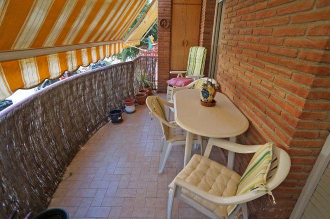 P-1519 Palafolls centro piso 3 dormitorios con balcón (Obra Salmerón)