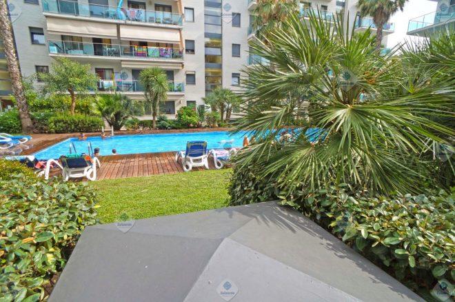 LLO-1502 Lloret de Mar - Fenals Precioso piso 3 dormitorios amueblado con parking
