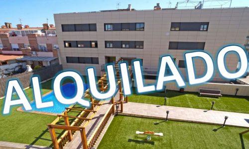 """""""ALQ-P-1638 Excepcional piso 3 dormitorios amueblado con terraza y plaza de aparcamiento incluida"""""""