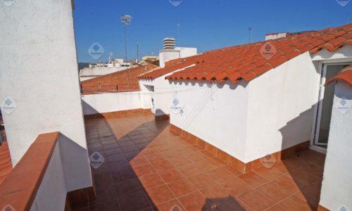 """""""P-1666 Palafolls duplex 2 dormitorios con terraza en venta"""""""