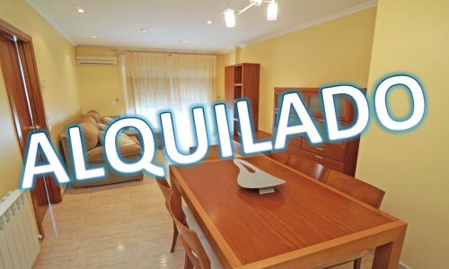 """ALQ-P-1678 Palafolls Piso 3 bedrooms and two bathrooms in excellent condition, for rent"""