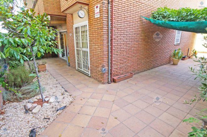 P-1146 Palafolls excellent ground floor center 3 bedrooms with garden (work Salmerón)