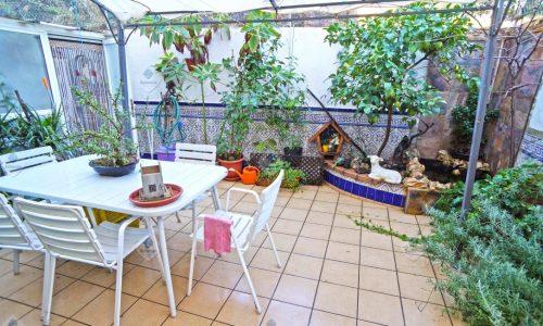 """""""P-1624 Palafolls Planta Baja 3 dormitorios con patio"""""""