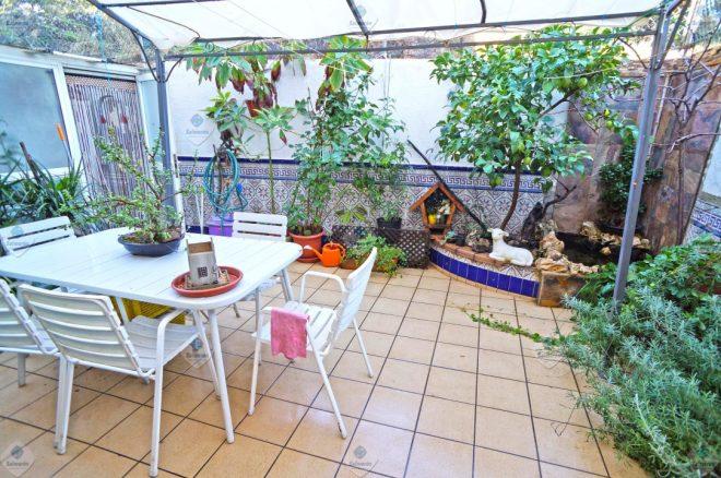 P-1624 Palafolls Planta Baja 3 dormitorios con patio