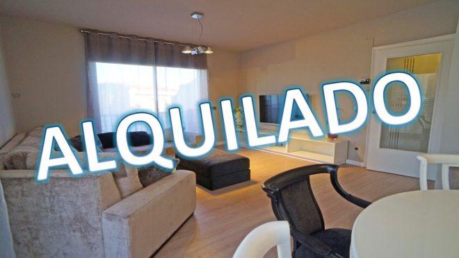"""""""ALQ-P-1733 Palafolls Piso 3 dormitorios amueblado  y reformado de diseño en alquiler"""""""