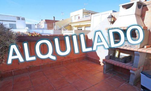 """""""ALQ-P-1657 Palafolls Piso 1 dormitorio con trastero y terraza en alquiler"""""""