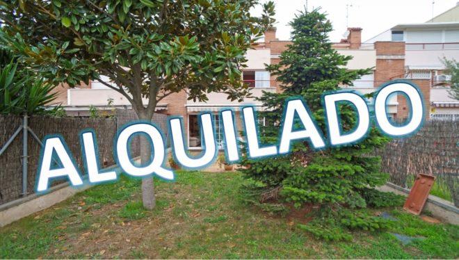 """""""ALQ-P-1800 Palafolls centro Casa excepcional amueblada, amb jardí, terrassa i pàrquing en lloguer"""""""