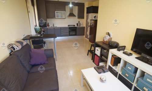 """ALQ-P-1839 Palafolls Piso 1 bedroom furnished for rent"""